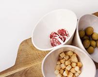 Ménage à trois - bowl