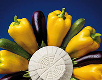 "Barilla ""Ricotta Cheese Sauces"" launch print campaign."