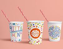 Táza Hyd - Organic Juice Store (Branding)