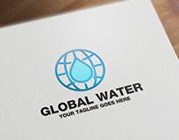Global Water | Logo Template