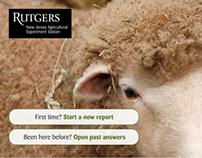 Rutgers University - Web Application