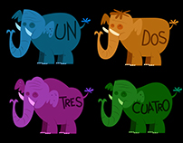 """Siete Elefantes"" music video"