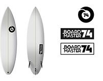 Logotipo Boardmaster 74