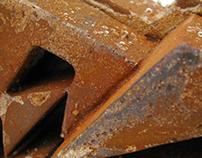 Typographic Sculpture Iron