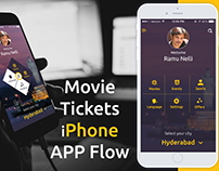 iOS Mobile Tickets APP - UI & UX Inspiration Designs...