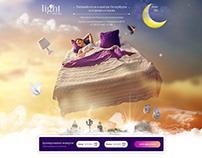 Сайт для отеля в Петербурге
