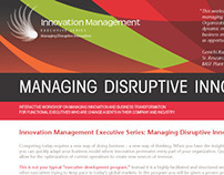 NC State CIMS Innovation Management Series