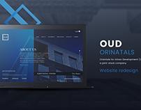 OUD website redesign