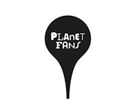 """""""Planet Fans"""". Naming & Branding"""