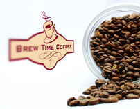 Brew Time Coffee Identity