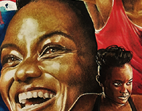 Sports Art - Nicola Adams