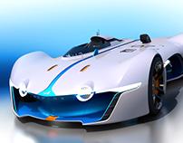3D modelling Alpine Vision Gran Turismo