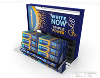 Espositore da Banco Mentadent White Now