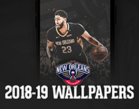2018-19 Pelicans Wallpapers