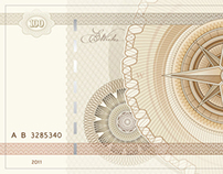 Banknote print for Sberbank