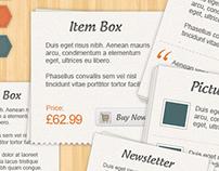 Craft Shop - Retail Web Elements