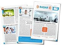 Projeto Gráfico Informativo radar