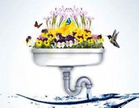 AD e cartaz Dia Mundial da Água - Belgo Bekaert