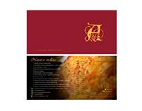 Carta de restaurante La Antequerana 2006