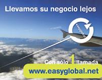 Anuncio para prensa Easyglobal, 2007