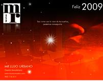 Felicitación navideña MR Lujo Urbano 2008-2009