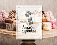 [Design graphique] - Marque Annie's cupcakes
