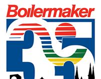Boilermaker 35th Anniversary Logo