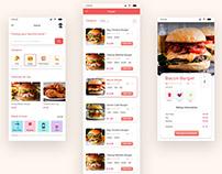 Online Restaurant Mobile UI Concepts