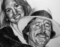 Portrait of Donna and Bruce