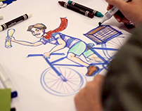 Friday Nights at the de Young with Papergirl SF (video)