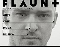 Flaunt — Concept website