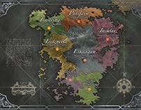 Cartografia & Mapas Fictícios