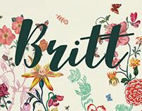 Britt birth announcement