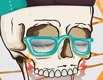 Hell Yeah Skull_Illustration