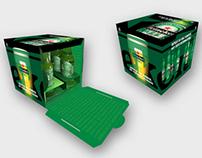 What's behind a Heineken? — Press release packaging
