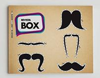 Capa Revista Box - Dia dos Pais
