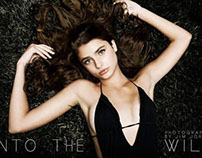 """INTO THE WILD"" EDITORIAL WITH SUPERMODEL TAYLOR HILL"