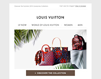 Louis Vuitton (Paris) Responsive Email Templates