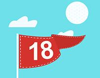 Golf, 4 under pair.