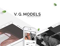 V.G. MODELS - redesign concept