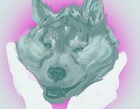 Husky Digital Painting Sketches
