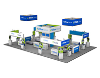 40'x60' Booth Concept: Zillow Group