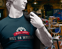Hill On Wheels Logo & Branding
