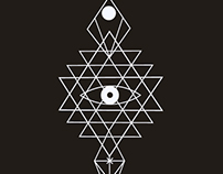 Sacred geometry. symbols and elements