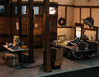 Doc Brown's Garage 1955 - Back To The Future