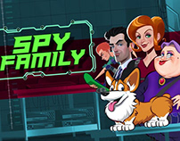 """Spy Family"" from High 5 Games"