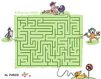 games for magazine: FUNNY LABYRINTHS