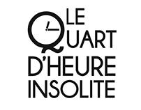 """Captation des conférences """"Le Quart d'Heure Insolite"""""""