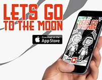 Lets Go to the Moon app