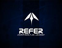 Refer, Indumentaria Deportiva